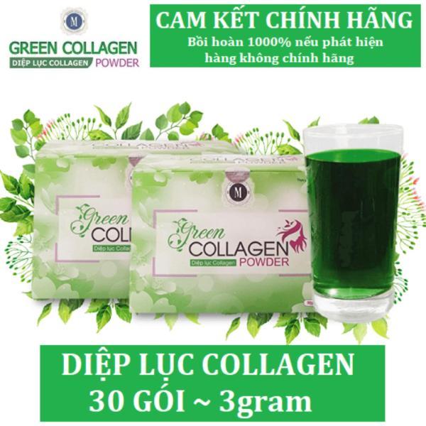 Diệp Lục Collagen (Hộp 30 gói)