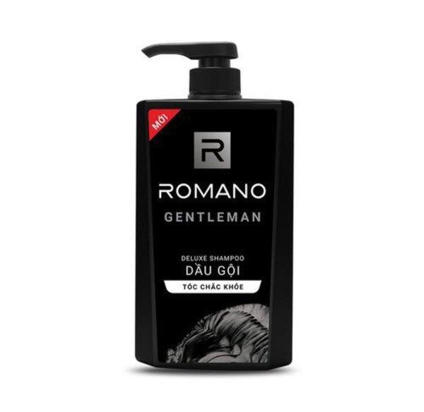 Dầu gội hương nước hoa Romano Gentleman tóc chắc khoẻ 650g giá rẻ