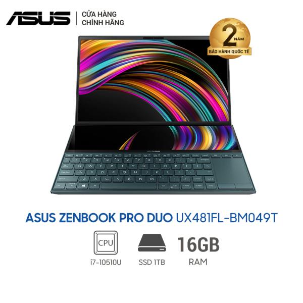 Bảng giá Laptop ASUS ZenBook Duo UX481FL-BM049T (i7-10510U) - 14inch Phong Vũ