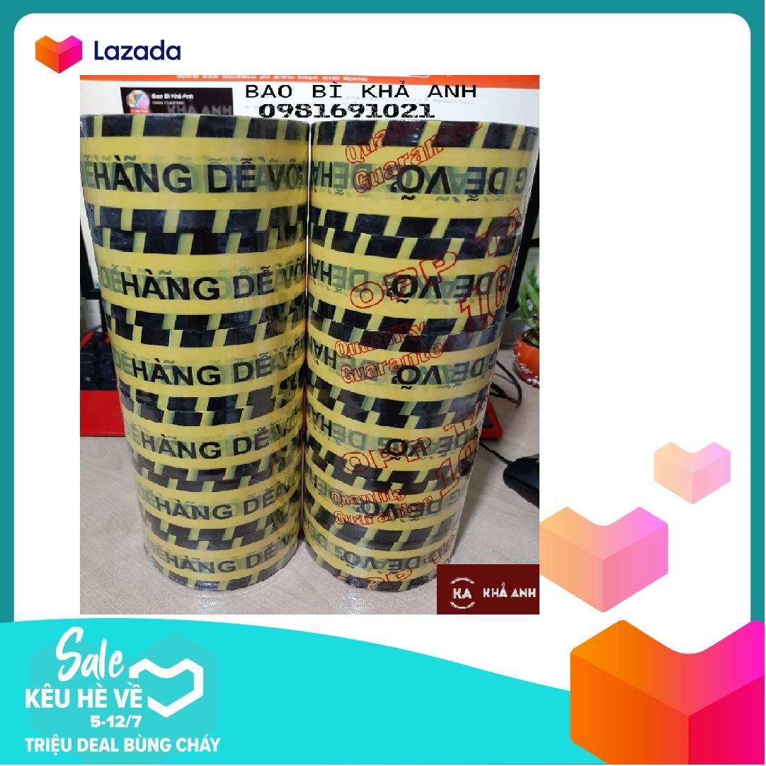 Băng Keo Logo Niêm Phong  Hàng Dễ Vỡ đóng gói hàng   / 6 cuộn