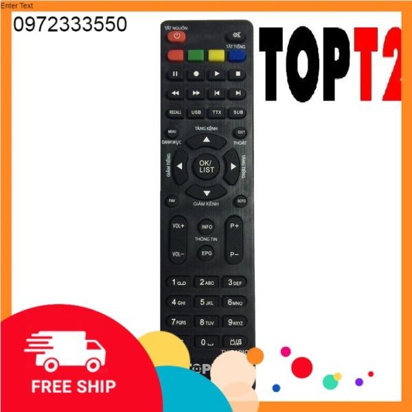 Bảng giá TOPT2 Remote điều khiển đầu thu truyền hình kỹ thuật số mặt đất DVB-T2 Phong Vũ