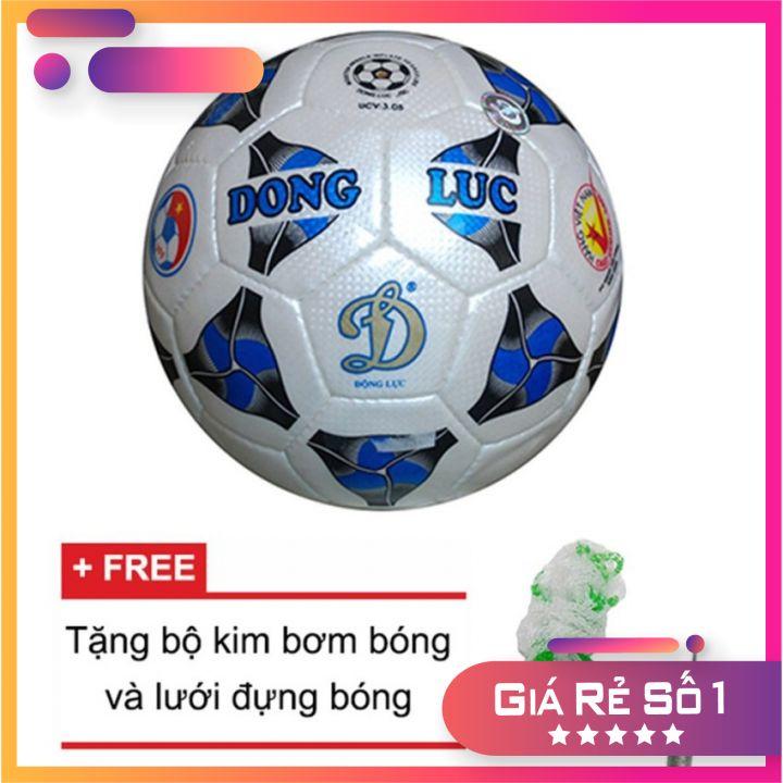 Quả bóng đá Động Lực Cơ bắp UCV 3.05 Số 5 -Tặng kim bơm + lưới đựng bóng (CHÍNH HÃNG)