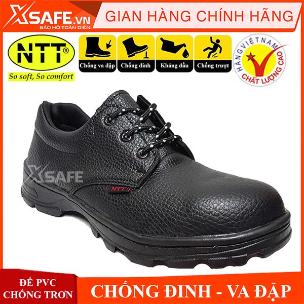 Giày bảo hộ lao động nam NTT  chống nước, chống đinh,  va đập, trơn trượt Giày công trình, nhà máy cổ thấp [XSAFE] [XTOOL]