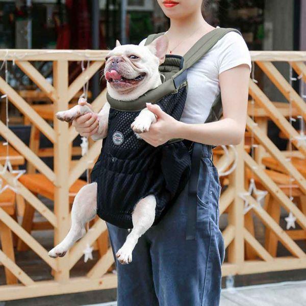 YINLMALL Có thể điều chỉnh Bền chặt Dành cho du lịch, đi bộ đường dài Ngực trước Thoáng khí Rảnh tay Túi đeo cho thú cưng Túi du lịch cho chó Ba lô người vận chuyển vật nuôi Phụ kiện cho mèo