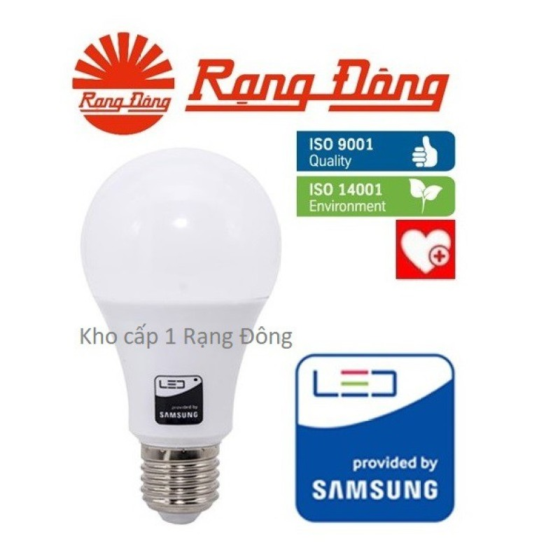 Bóng Đèn Led Kẹp Bình Ắc Quy 12V - 24V Dc 7W / 9W /12W Rạng Đông, Chipled Samsung