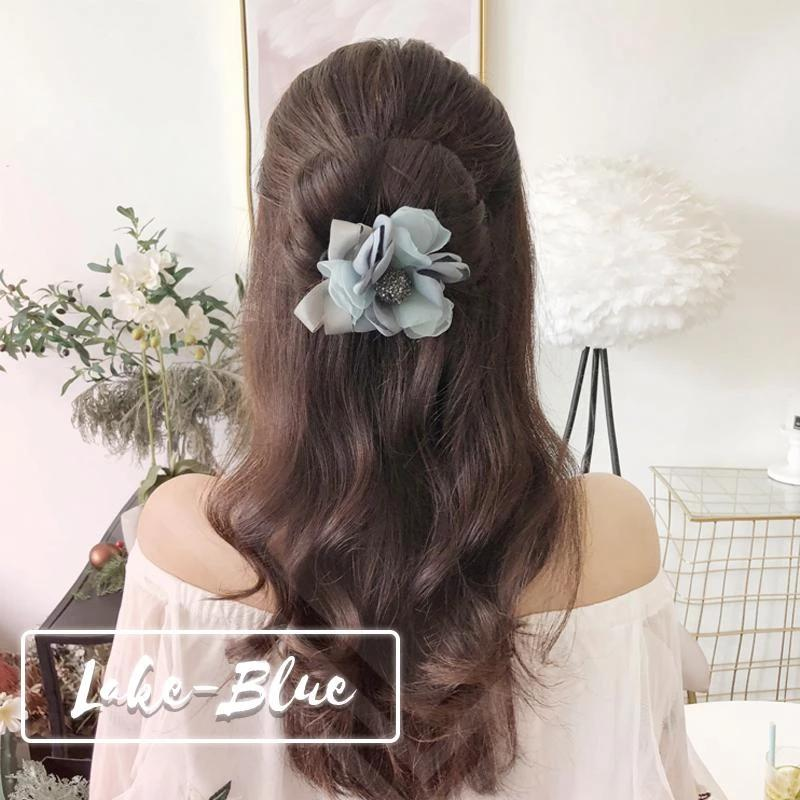 (Combo 3 chiếc)  Dụng cụ buộc tóc Magic Hair - Dây buộc tóc - phụ kiện chăm sóc tóc cho phụ nữ - phụ kiện thời trang nữ - kẹp tóc- dây cột tóc phụ kiện cho tóc - dây buộc tóc cho phụ nữ