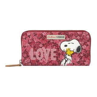 Cath Kidston-Ví cầm tay Snoopy Continental Placement Zip Wallet - 910163 thumbnail
