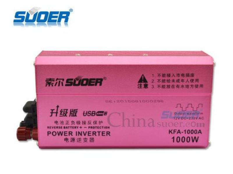 Bảng giá Bộ Kích Điện Inverter Suoer 12V Lên 220V KFA-1000A Phong Vũ
