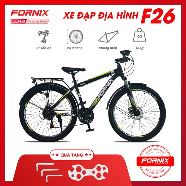 Mua Xe đạp địa hình thể thao Fornix F26 (KÈM SÁCH HƯỚNG DẪN LẮP RÁP) + Tặng (Bộ lắp ráp)- Bảo hành 12 tháng