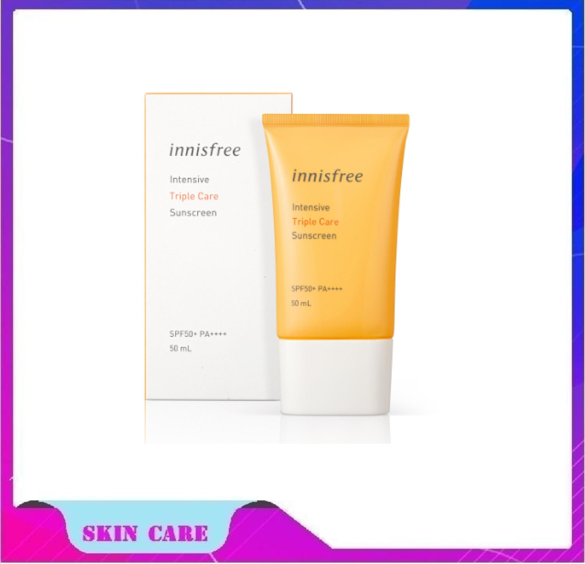 [NEW 2019] Kem chống nắng Innisfree Intensive Triple Care Sunscreen SPF50+/PA+++