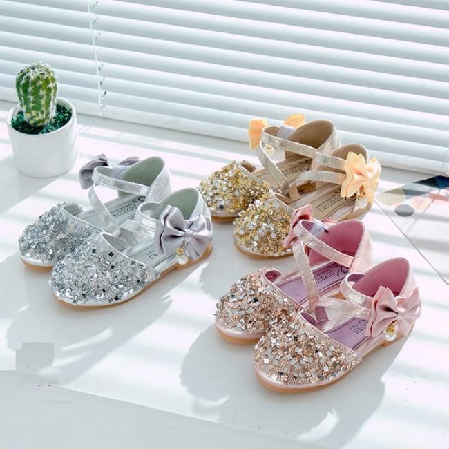 Giày búp bê công chúa lấp lánh cho bé gái -Giày Hót Nhất Cho Bé Gái 2020 -G08 giá rẻ