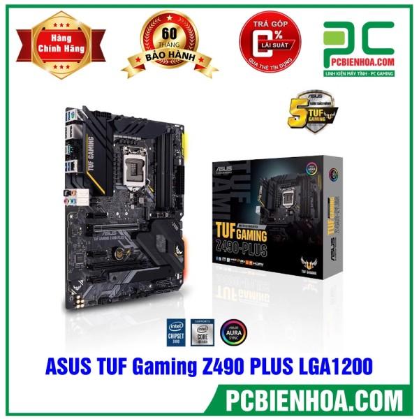 Bảng giá [Trả góp 0%]Mainboard ASUS TUF Gaming Z490 PLUS ( LGA1200 / ATX / 4xDDR4 ) Phong Vũ