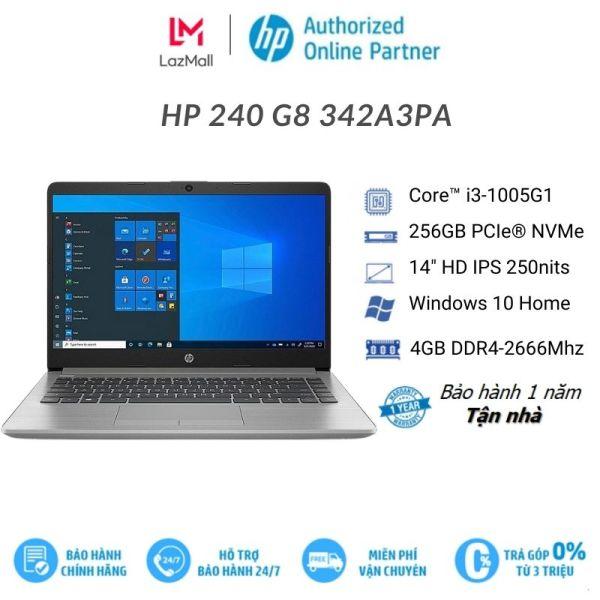 Bảng giá [Voucher 1 triệu]Laptop HP 240 G8 342A3PA | Core i3-1005G1 | 4GB | 256GB | Intel UHD | 14.0 inch FHD | Win 10 | Bạc Phong Vũ