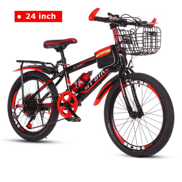Mua Xe đạp trẻ em thể thao địa hình Size 24 inch dành cho trẻ em 10-17 tuổi (Đỏ, Xanh dương)