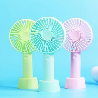Quạt Mini Fan cầm tay để bàn - Quạt mini cầm tay nhỏ gọn - quạt cầm tay kèm sạc pin (Màu ngẫu nhiên) thumbnail
