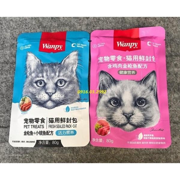 Pate Cho Mèo Wanpy