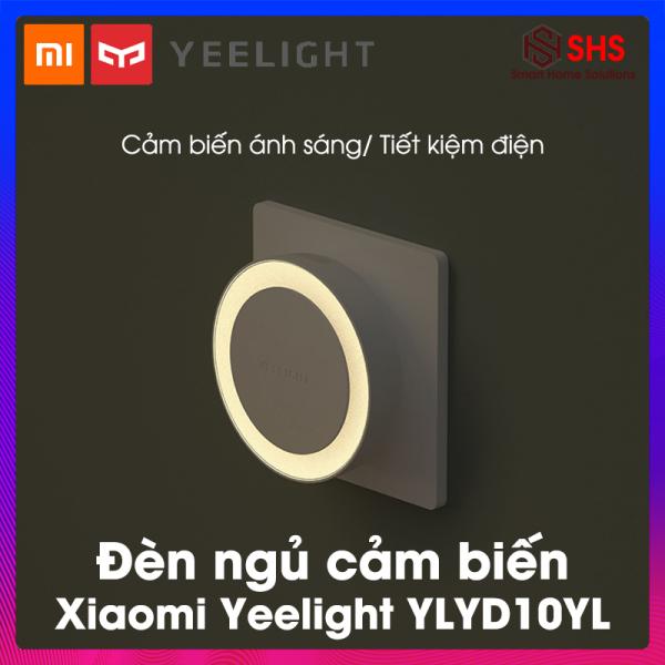 Đèn ngủ cảm ứng, đèn ngủ thông minh Xiaomi Yeelight, BH 6 THÁNG, YLYD10YL, cảm biến ánh sáng tự động bật tắt, có rắc cắm, hình tròn, 0.4W- 2700K, SHS Vietnam
