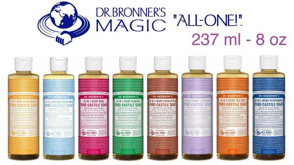 Dr. Bronners Castile Liquid Soap 18-in-1 chai 237ml (8oz) giá rẻ