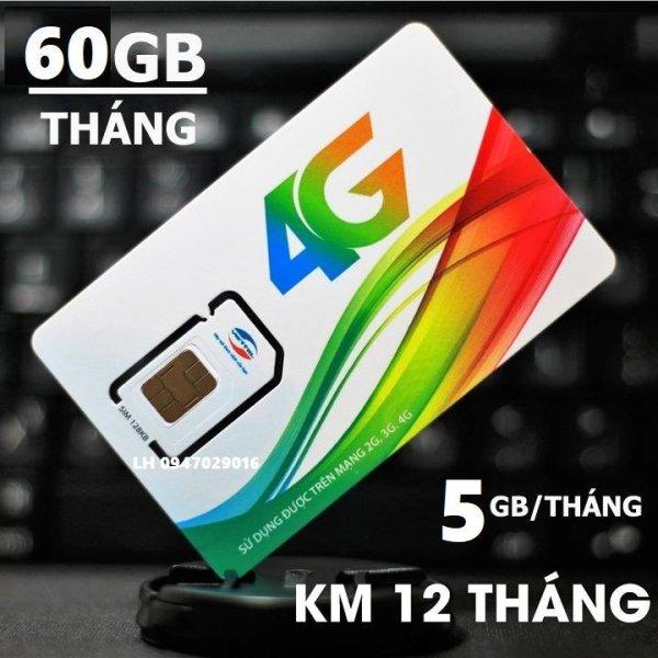 Sim 4G Viettel D500 Trọn Gói 1 Năm, Data 4G Tốc Độ Cao 60Gb/12 Tháng