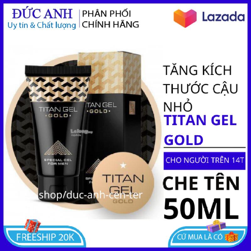 Titan gel gold Nga , gel bôi trơn tăng cường sinh lý , kéo dài thời gian quan hệ , che tên sản phẩm