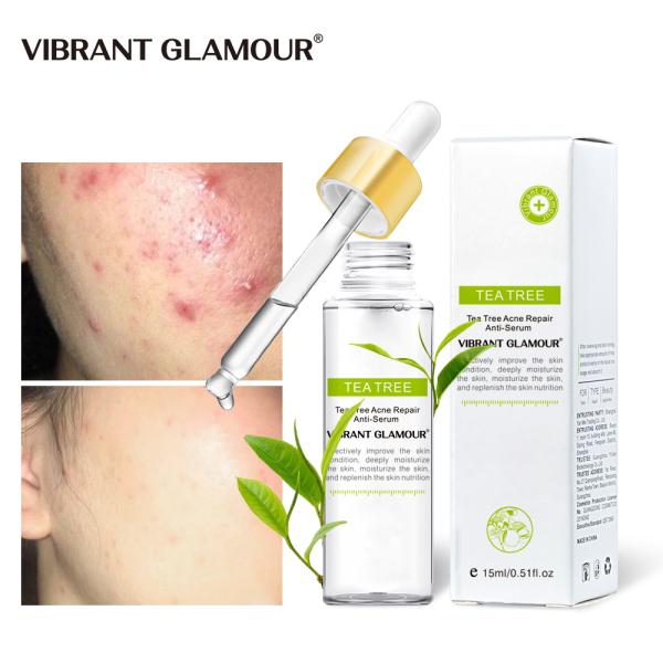 Serum tinh chất trà xanh chăm sóc bảo vệ kiểm soát chất nhờnthu nhỏ lỗ chân lông cho da mặt VIBRANT GLAMOUR - INTL
