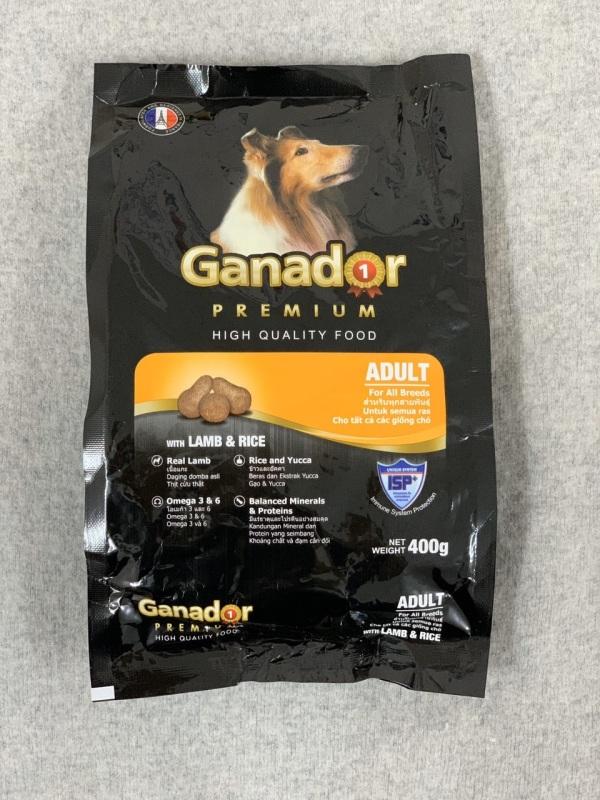 Thức ăn chó lớn Ganador