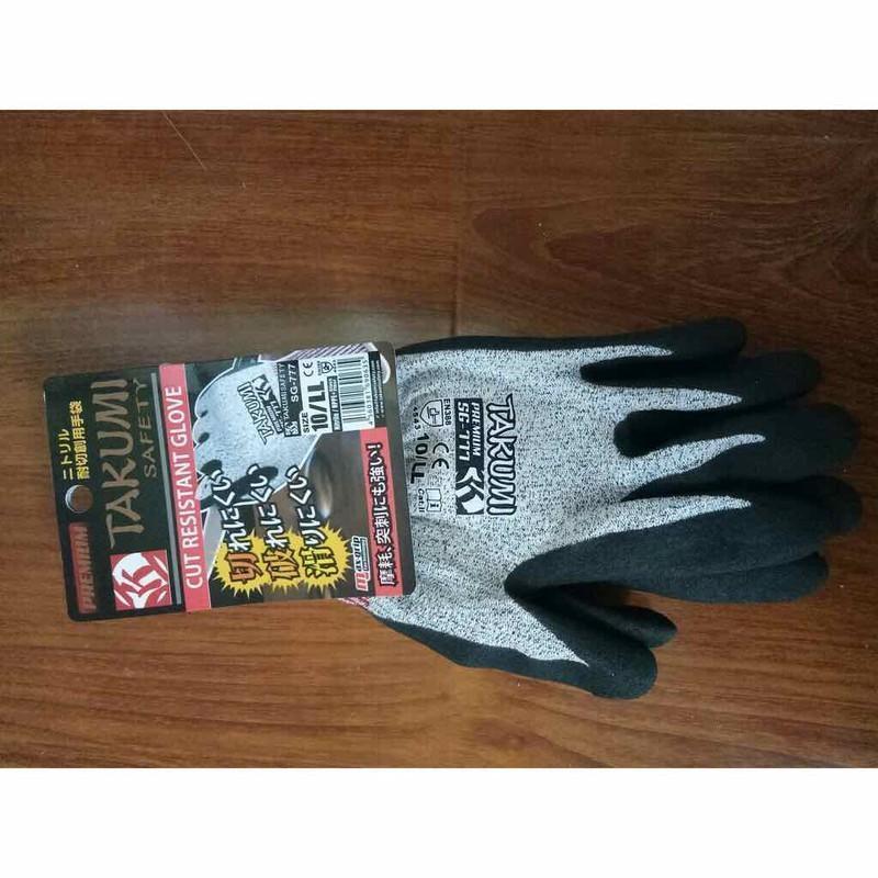 Găng tay chống cắt cao cấp takumi SG-777