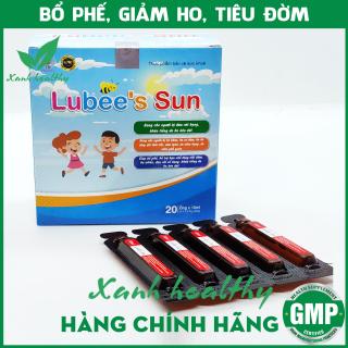 Siro ho thảo dược LUBEE S SUN - Cao lá thường xuân , mật ong, húng chanh giúp giảm ho, tiêu đờm an toàn hiệu quả - Hộp 20 ống 10ml thumbnail