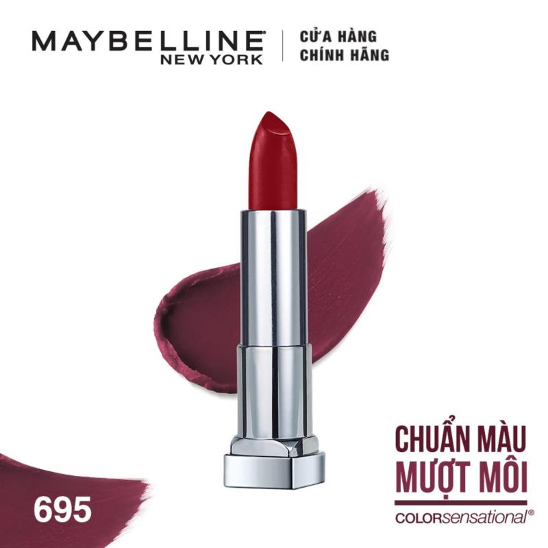 Son lì mịn môi  Maybelline New York The Creamy Mattes 3.9g cao cấp