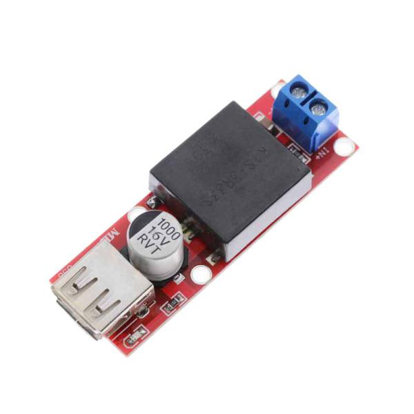 Giá 5V USB Output Converter DC 7V-24V to 5V 3A Step-Down Buck KIS3R33S Module KIS-3R33S