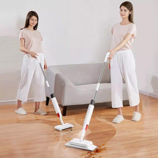 Ca quét và khai lắp 2 trong 1 Bộ phun nước giúp đỡ máy quét sàn, Quay về Bàn Quay xoắn ốc