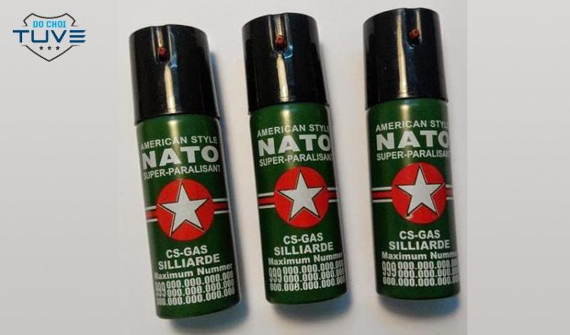 Hàng Tự-Vệ Nato Cao Cấp 110ml + Tặng Khăn Phượt New 2019 cao cấp