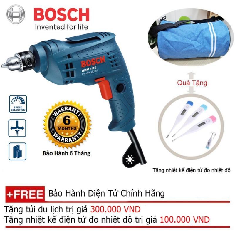 Máy khoan xoay Bosch GBM 6 RE Professional + Quà tặng balo du lịch