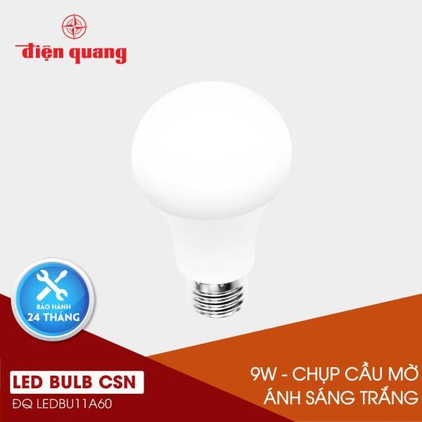 Đèn LED Bulb Điện Quang ĐQ LEDBU11A60 09765 V02 (9W daylight, chụp cầu mờ)