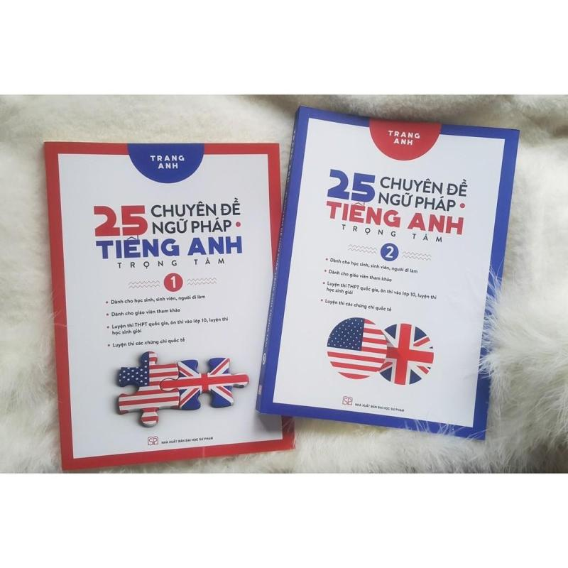 Mua Sách - Combo 25 Chuyên Đề Ngữ Pháp Tiếng Anh Trọng Tâm Tập 1 và Tập 2 (Trọn Bộ 2 Tập)
