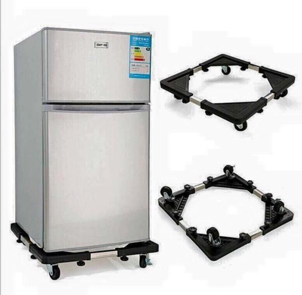 Chân kệ để tủ lạnh, máy giặt có bánh xe