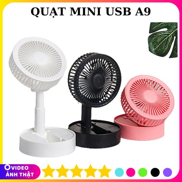 Quạt Mini Usb Fan A9 Có Đế Để Bàn Nhỏ Gọn Tiện Dụng, Quạt Mini, Quạt Để Bàn, Quạt USB, Quạt, Quạt Cầm Tay