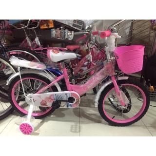 xe đạp trẻ em - xe đạp cho bé gái - dành cho bé 2-6 tuổi - mẫu mới khung vành bằng sắt siêu trắc chắn bánh 12 5