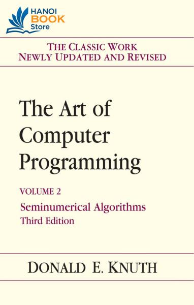The Art of Computer programming Volume 2 Seminumerical algorithms  - Hanoi bookstore