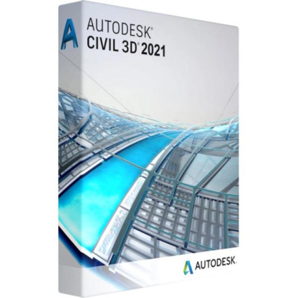 Bảng giá Autodesk AutoCAD Civil 3D 2021 - 1 năm bản quyền Phong Vũ