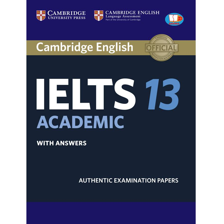 Mua Cambridge IELTS 13 Academic