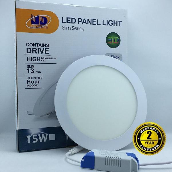 Đèn LED âm trần siêu mỏng (15W-Φ168)