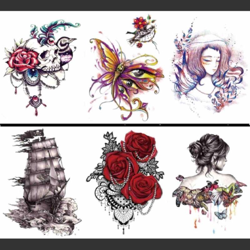 Hình xăm dán Tattoo 5 ngày