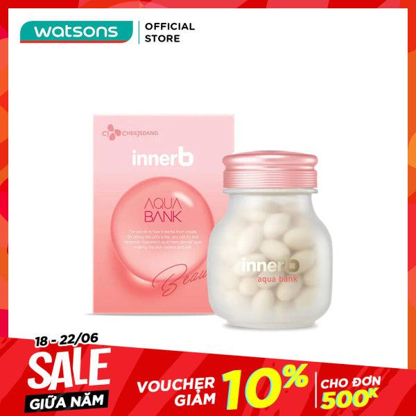 Thực Phẩm Bảo Vệ Sức Khỏe Innerb Aqua Bank Radiant Soft Skin Hỗ Trợ Giữ Ẩm Da 16.8g