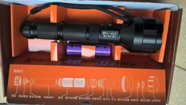 Đèn pin SIÊU SÁNG Wasing WFL-403 Hàng mới cao cấp - Bảo hành 12 Tháng
