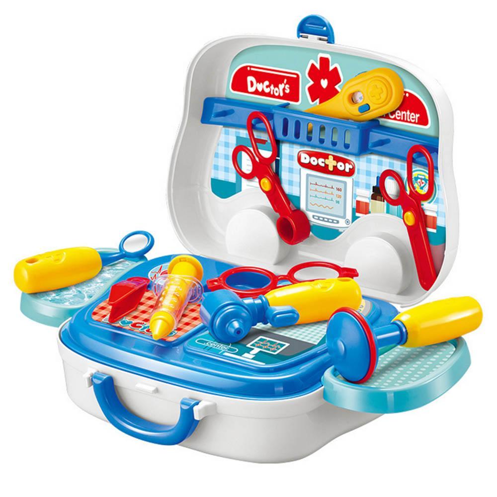 Anak-anak Mainan Dokter-dokteran Kit Berpura-pura Bermain Perlengkapan  Medis Anak- 94f5da98c0