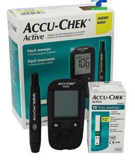 [TRỌN BỘ] Máy đo đường huyết ACCU-CHEK ACTIVE, Bao gồm kim và bút chích máu, TẶNG 10 que thử, Bảo hành TRỌN ĐỜI 1 ĐỔI 1 thumbnail