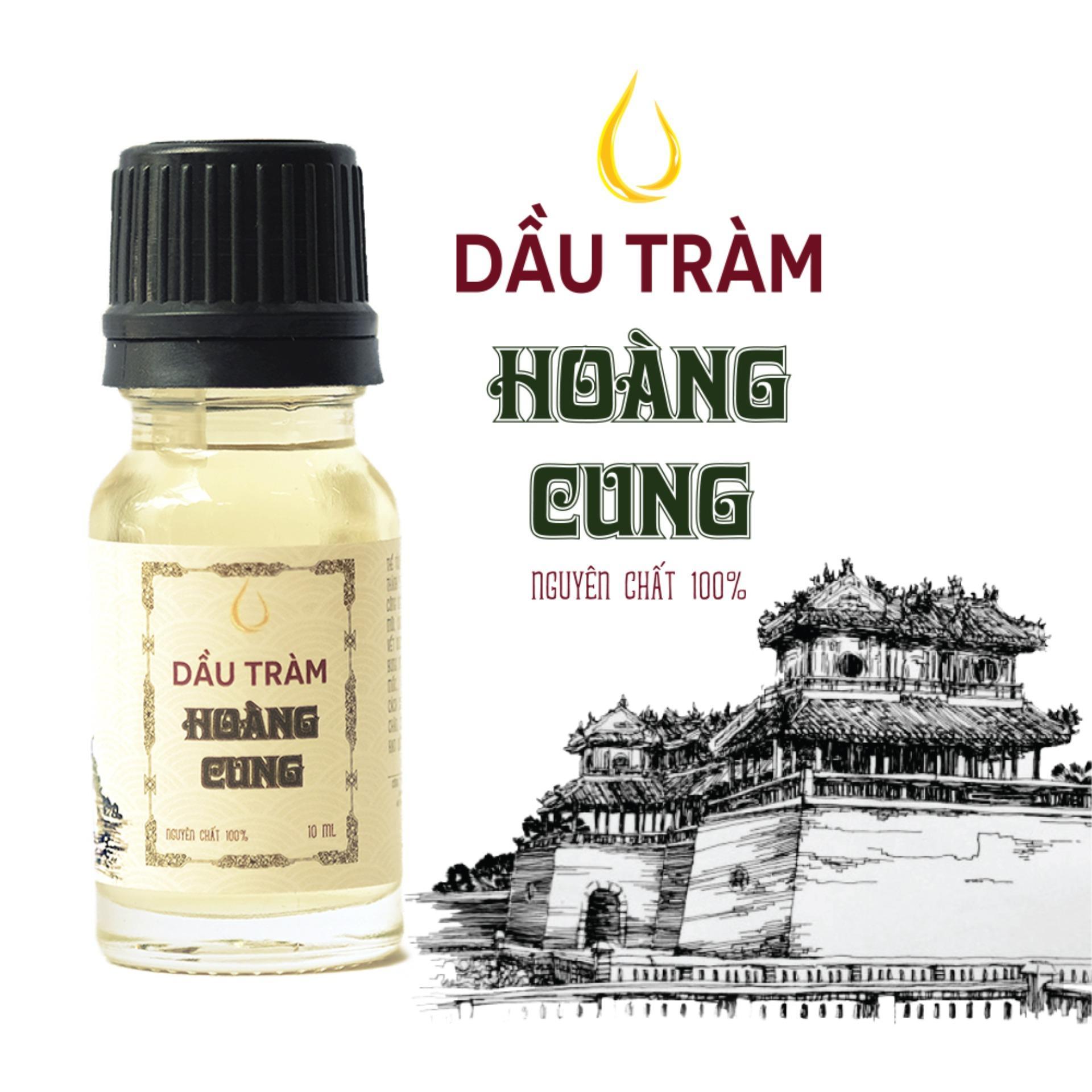 Dầu tràm cho bé - dầu tràm Hoàng Cung 10ml (chai thủy tinh)