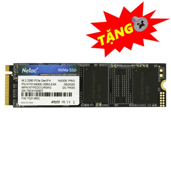 Bảng giá Ổ cứng SSD M.2 PCIe NVMe Netac N930E Pro 128GB 256GB - bảo hành 3 năm - SD71 SD67 Phong Vũ