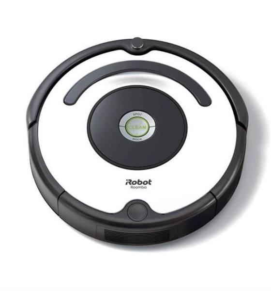(Hàng Đức) Robot hút bụi iRobot Roomba 675, màu Đen trắng, có kết nối Wifi